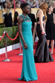 Lupita Nyong'o - 20th Annual Screen Actors Guild Awards - Red Carpet
