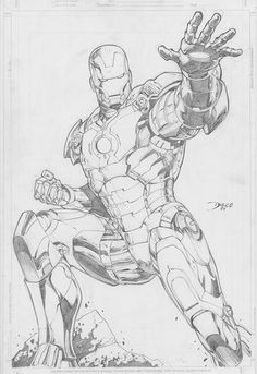 Iron Man by italoabreu Black And White Comics, Black And White Sketches, Black White Art, Iron Man Kunst, Iron Man Art, Marvel Characters, Special Characters, Black Sabbath, Clint Eastwood Poster