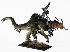 Tale of Painters: Showcase: Lizardmen Troglodon