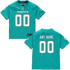 Nike Miami Dolphins Preschool Customized Team Color Game Jersey - $79.99