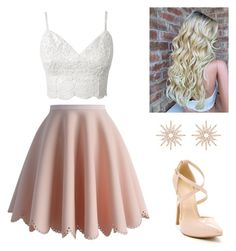 """""""Pretty in Pink"""" by erin-nichol on Polyvore featuring Chicwish and Christina Debs"""