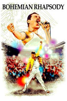 Bryan Singer, Movie Poster Art, Freddie Mercury, Dance Music, Musicals, Cinema, Queen, Movies, Films
