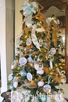 Twelve Days of Christmas Tree