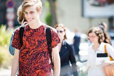 Street looks à la Fashion Week homme printemps-été 2016 de Paris 75