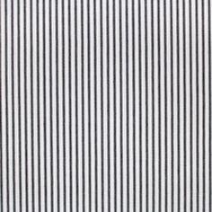 Martha's Furnishing Fabrics Grey Ticking Linen