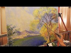 Импрессионизм для начинающих, уроки живописи в Москве, художник Игорь Сахаров - YouTube