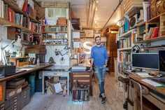 Illustrator Oliver Jeffers' New York apartment is a canvas for his quirky art and singular worldview, Emma Brockes discovers. Photographs: Nicholas Calcott