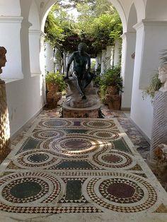 Villa San Michele in Capri Island, Italy