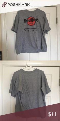 2/$15 Vintage China Hard Rock Cafe shirt Really cool vintage HRC China shirt Tops Tees - Short Sleeve