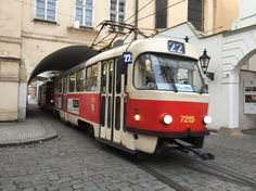 Street Cars in Prague.