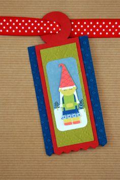 Christmas tag #2