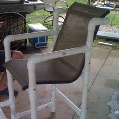 PVC pipe chair