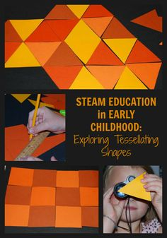 Come explore TESSELLATING SHAPES in Early Childhood through a STEAM approach to learning. Great play and learning that kids can apply to the real world!