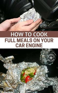 How To Cook Full Meals On Your Car Engine — I wanted to share this awesome article with you. How to cook fill meals on your car engine. This blew my mind, I had never thought about this before, it literally had never even crossed my mind. Thinking outside of the box in a survivalsituation is needed if you want to thrive and survive.  #shtf #prepper #preparedness