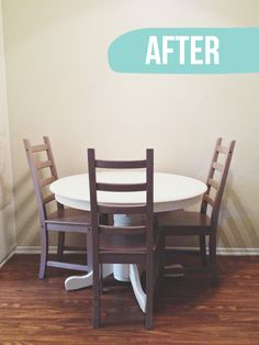 Annie Sloan chalk paint on a dining table - Ideas for Painting Furniture - Zimbio