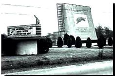 Tiger Drive In, Airline Hwy., Baton Rouge - 1958