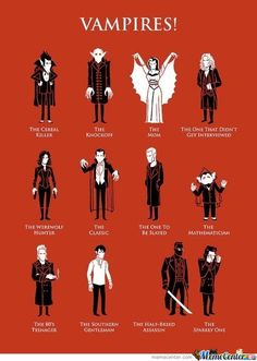 Vampire Categories!