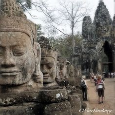 Ankor Wat, Cambodia. I have a picture of me right here! Put Ankor Wat on your bucket list also!