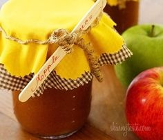 Homemade Applesauce In Crock...make Your House Smell Like A Yankee Candle Too!