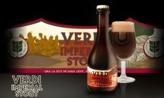 Cerveja Del Ducato Verdi , estilo Russian Imperial Stout, produzida por Birrificio del Ducato , Itália. 8.2% ABV de álcool.
