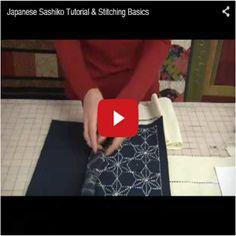 Japanese Sashiko Tutorial & Stitching Basics - Sashiko 刺し子 ·«ǂ Japanese Quilts, Japanese Sewing, Japanese Textiles, Japanese Embroidery, Japanese Fabric, Embroidery Techniques, Sewing Techniques, Cross Stitch Embroidery, Embroidery Patterns