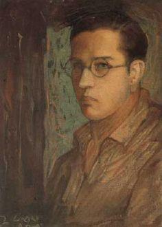 Jorge Gonzalez Camarena Student Self Portrait 1925. Oil on canvas, 51.5 x 38 cm.