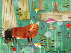 Illustration Friday, Children's Illustrator: Amy Schimler