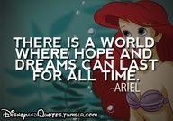Disney Quotes on We Heart It Little Mermaid Quotes, Ariel The Little Mermaid, Ariel Mermaid, Mermaid Disney, Disney Girls, Disney Love, Walt Disney, Disney Theme, Disney Stuff