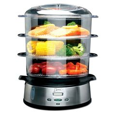 eat healthier & cook more with a food steamer