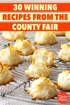 30 Winning Recipes from the County Fair 30 Winning Recipes from the County Fair Keto, Lchf, Paleo, Easy Cooking, Cooking Recipes, Healthy Recipes, State Fair Food, Carnival Food, Good Food