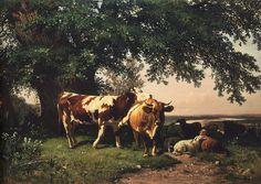 SHISKIN, Ivan Ivanovich - herd under derevyami