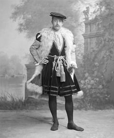 Victor Christian William Cavendish, later 9th Duke of Devonshire (1868-1938) as Ambassador Jean de Dinteville.