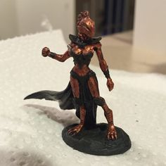 Female Dragonkin Mage | Frostgrave Concepts in 2019 ...