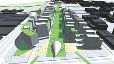 diseño urbano: Es el diseño de edificios, espacios, paisajes, procesos de un desarrollo sostenible creando una visión de conocimientos