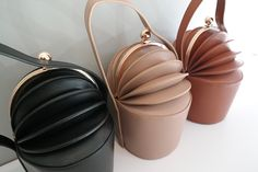 black smooth leather bucket bag, beige leather evening purse, brown calfskin leather accordion bag, unique clutch for women, gift for her Black Leather Bags, Leather Purses, Leather Handbags, Leather Keyring, Leather Card Wallet, Leather Evening Bags, Clutches For Women, Braided Leather, Smooth Leather