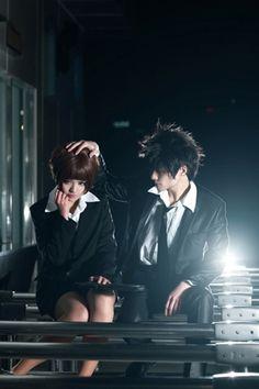 Tsunemori Akane/ Shinya Kogami