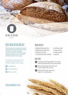 Irish wheaten bread recipe.