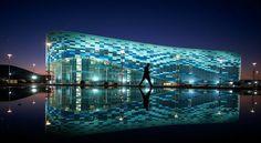 arena w Soczi - Ajsbierg - z innej strony
