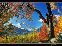 Karimabad, Hunza, Gilgit, Pakistan.
