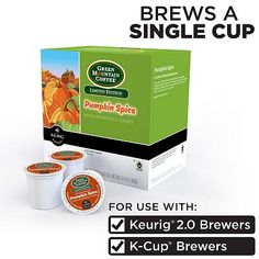 Keurig® K-Cup® Portion Pack Green Mountain Pumpkin Spice Coffee - 18-pk.