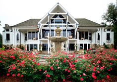 Worman House Restaurant at Big Cedar Lodge...did we mention its amazing lake view?