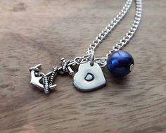 Check out this item in my Etsy shop https://www.etsy.com/uk/listing/266814209/anchor-necklace-sailors-necklace