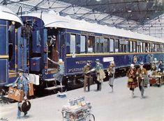 Orient Express Train, Simplon Orient Express, Tour Eiffel, Le Train Bleu, Kdf Wagen, Blue Train, Top Skin Care Products, Monuments, Air France
