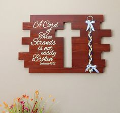 Rustic Wedding Sign Unity Wedding Cords A by UnityWeddingBraids