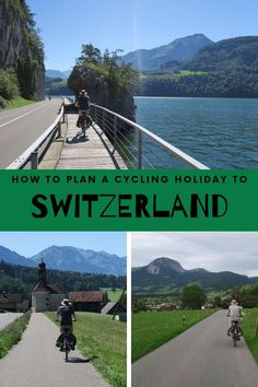 Cycling in Switzerland is a great way to explore the country. Plan your Switzerland cycling holiday with this guide about rules, routes and bike rental. There are many great cycling routes with gorgeous views to the Swiss Alps.