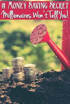 The #1 Money Saving Secret millionaires wont tell you.- Having trouble saving money? Check out this money saving secret that millionaires don't want your to know!!