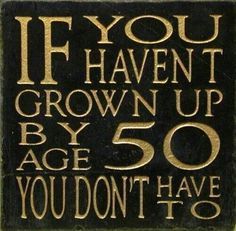 NO YES YOU DO, TO BE OVER 50 YEARS OLD AND IMMATURE, MESSY & GOSSIPING NO NO NO 50 YOU SHOULD HAVE A BETTER HEAD ON YOUR SHOLDERS