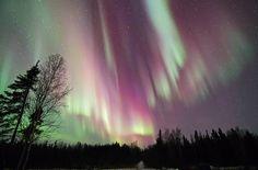 Northern Lights - Vee Lake near Yellowknife, Northwest Territories, Canada