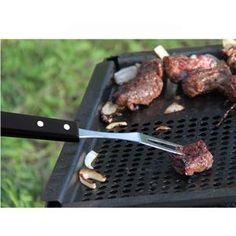 Edelstahl Gillgabel – Omeo Store Grill Pan, Grilling, Bbq, Meat, Kitchen, Food, Stainless Steel, Griddle Pan, Barbecue
