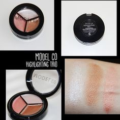 MichelaIsMyName: MODEL co Highlighting Trio REVIEW